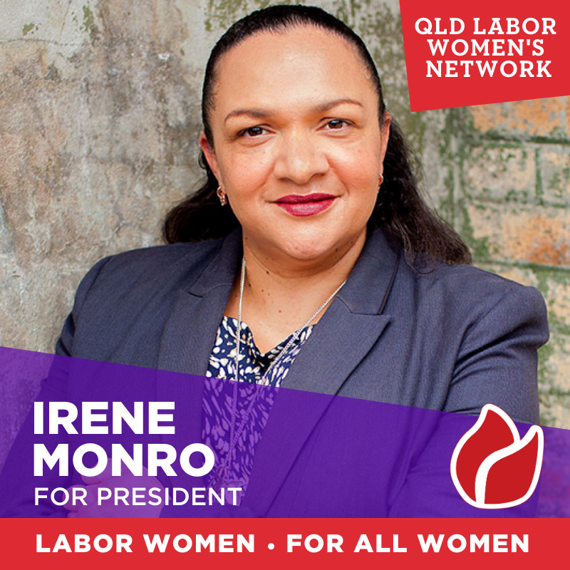 Picture of Irene Munro candidate for President
